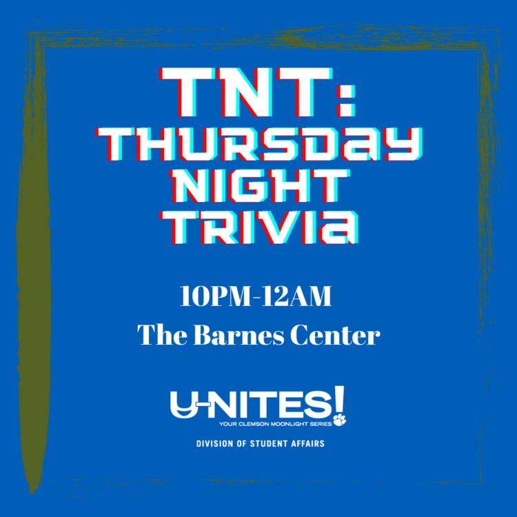 U-NITES! TNT: Thursday Night Trivia