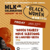 "MLK Week Presents: ""Hidden Figures"" on Landis"