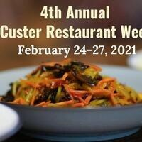 Custer Restaurant Week