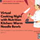Cooking with Nutrition Kitchen