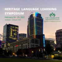 Heritage Language Learning Symposium