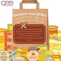 GEE Presents: Grocery Bag Bingo