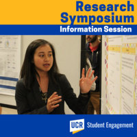 Undergraduate Research Symposium - Understand how to prepare to share your completed and emerging research.