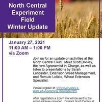 2021 NC Experiment Field Winter Update flyer