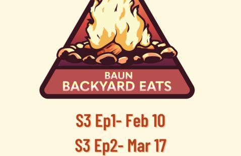 Baun Backyard Eats S3Ep1