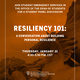 Resiliency 101: A conversation about building personal resilience pt. 2