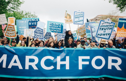 march for poster