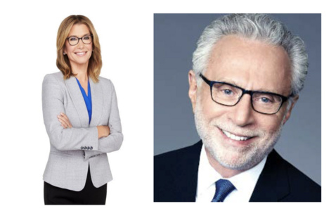 photo of Carol Costello and Wolf Blitzer