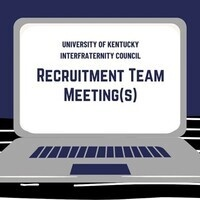 IFC Recruitment Team Meeting