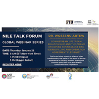 Nile Talk Forum 4 - Downstream Upstream Relationship and the Grand Ethiopian Renaissance Dam (GERD) Filling and Operation Agreement Flexibility
