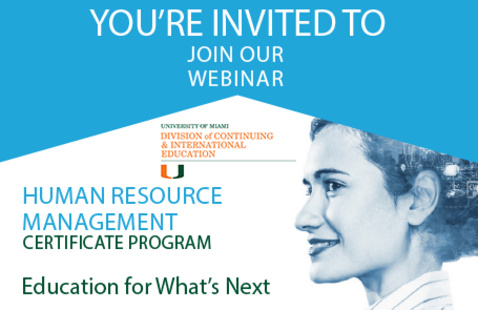 Human Resources Information Session