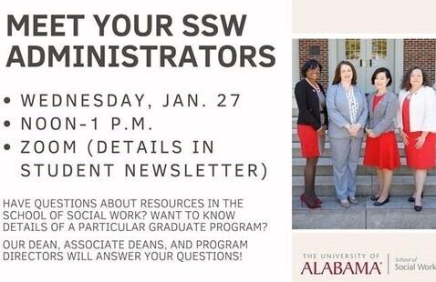 Meet Your SSW Adminstrators