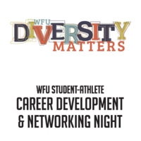 Spring 2021 Virtual Diversity Matters & Student-Athlete Networking Night