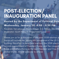 Post-Election/Inauguration Panel