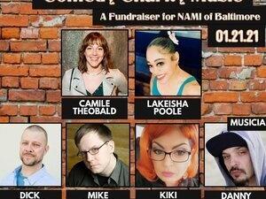Virtual Comedy Fundraiser for NAMI Baltimore