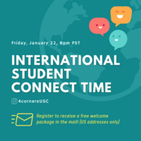 International Student Connect Time (Free Welcome Package)