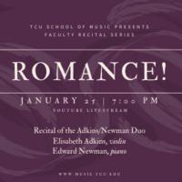 Faculty Recital Series: Elisabeth Adkins, violin and Edward Newman, piano
