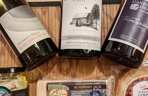 Special Valentines Day Event - New Frontiers Virtual Wine & Cheese Pairing Experience