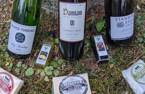 Virtual Finger Lakes Wine & Cheese Pairing Experience: Seneca Lake Banana Belt