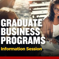 College of Business Graduate Programs: Virtual Information Session