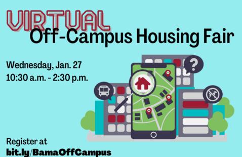 Virtual Off-Campus Housing Fair graphic