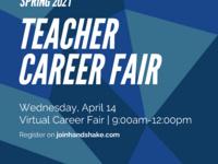 Spring 2021 Virtual Teacher Career Fair