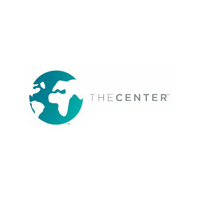 The logo of The Center
