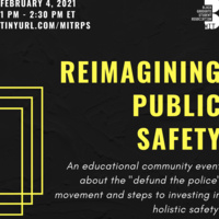 Reimagining Public Safety, info in event