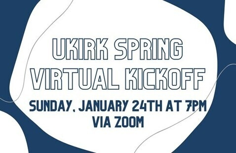 Ukirk Spring Virtual Kickoff