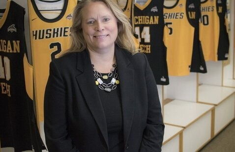 Suzanne Sanregret, Athletic Director, Michigan Tech
