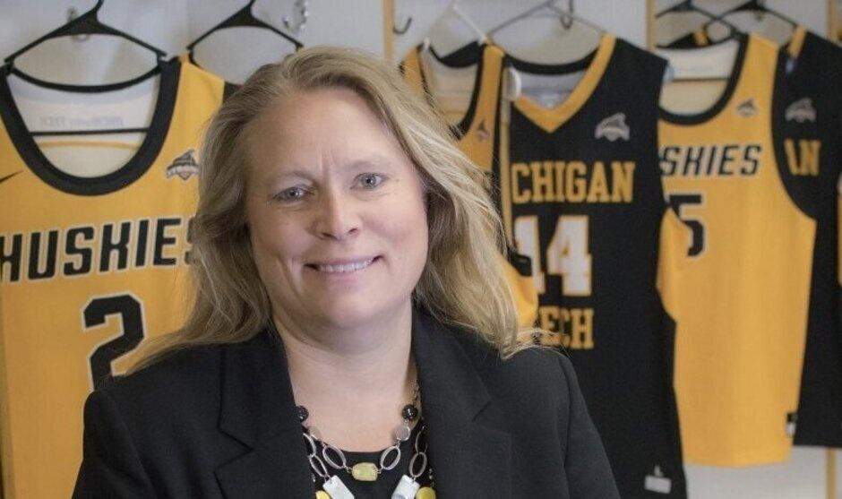 Suzanne Sanregret, Athletic Director, Michigan Tech