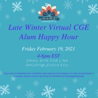 Center for Gender Equity Late Winter Alumni Happy Hour