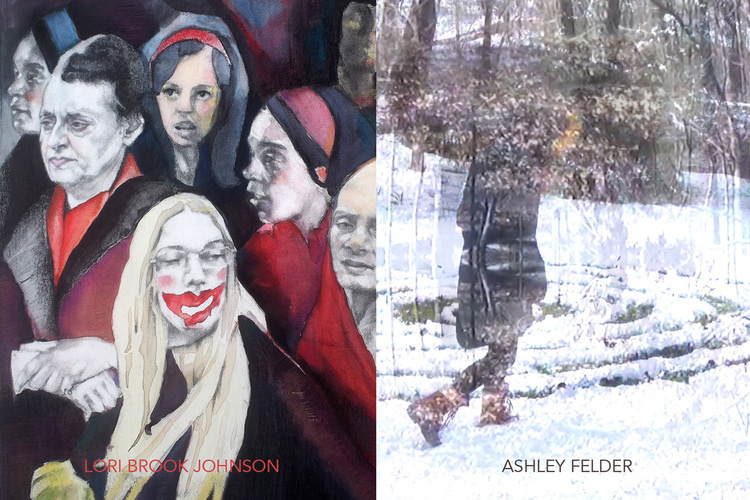 MFA Thesis Exhibit - The Self Outside by Ashley Felder and Lori J...