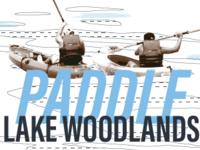 Paddling Lake Woodlands Meet Up