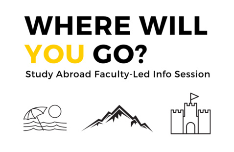 study abroad faculty led info session