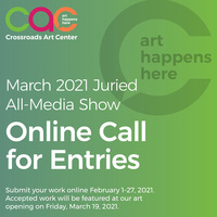 Call for Entries - March 2021 All Media Show