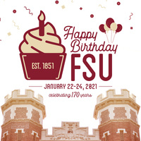 Celebrate FSU: Birthday Confetti Cannons & T-Shirts
