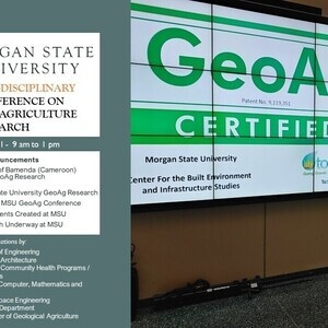 Center for Sustainable Futures -  GeoAg Research Announcement
