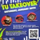 TU Takeover Residence Hall Drop Off (ON CAMPUS STUDENTS ONLY)