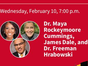 BROWN LECTURE SERIES: DR. MAYA ROCKEYMOORE CUMMINGS, JAMES DALE, AND DR. FREEMAN HRABOWSKI