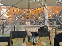 Igloos at The Garden City Hotel