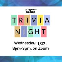 Program Board Trivia Night c/o Remobies