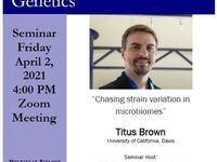 "MBG Friday Seminar: ""Chasing strain variation in microbiomes"""
