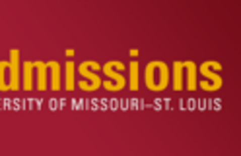 Logo for the UMSL Office of Admissions