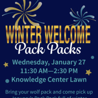 Winter Welcome Pack Packs