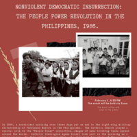 Nonviolent Democratic Insurrection: The People Power Revolution in the Philippines, 1986