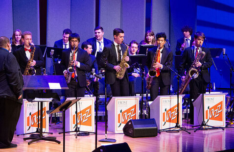 Frost Studio Jazz Band Swings!