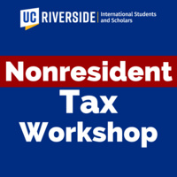 Introduction to Nonresident Tax Filing in the U.S. (Federal Taxes) Workshops