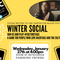 Winter Social 2021 Flyer