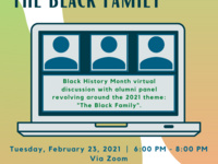 """Black History Month Discussion """"The Black Family"""""""